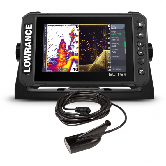 Lowrance Elite FS 7 with HDI Transducer in the group Electronics / Fishfinder/Chartplotters at Sportfiskeprylar.se (000-15697-001)