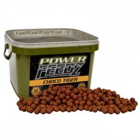 Starbaits Power Feedz Boilies Choco Tiger 20mm 1,8kg