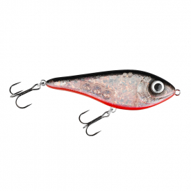 Buster Swim Slow Sink 13cm Söder Custom - Red Ghost Flash