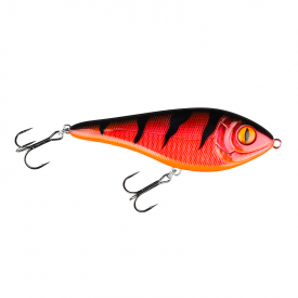Buster Swim Slow Sink 13cm Söder Custom - Red Tiger Flash